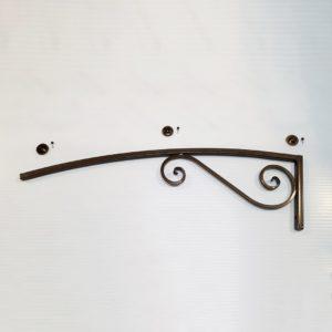 Крепление (кронштейн) для козырьков и навесов 950 мм (Термошайба)