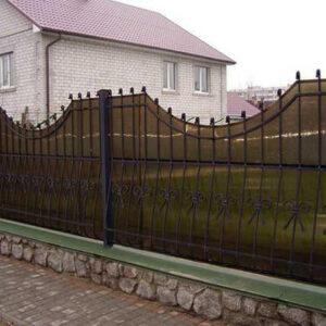Забор из поликарбоната SOTON 6 мм.
